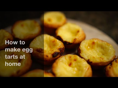 How to make Portuguese egg tarts at home | 葡式蛋撻