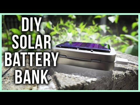 How to make a Solar Power Bank