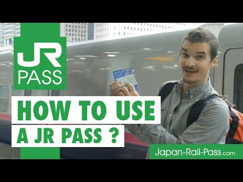 JR Pass - How to USE a Japan Rail Pass ?