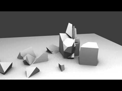 Stone pillar fracture - Blender 2.59