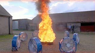 Creating A Fire Tornado - Factomania - Brit Lab