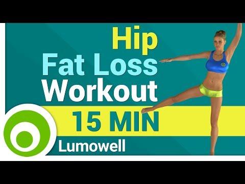 Hip Fat Loss Workout for Women