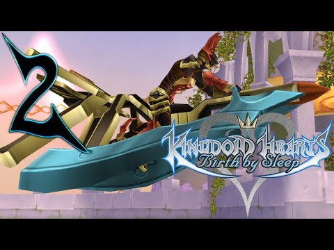 Kingdom Hearts Birth By Sleep Walkthrough Part 2 Terra The Mark of Mastery (Let's Play Gameplay)