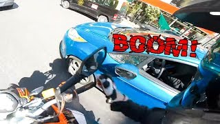 EXTREMELY CRAZY, STUPID & ANGRY PEOPLE vs BIKERS   [Ep. #96]