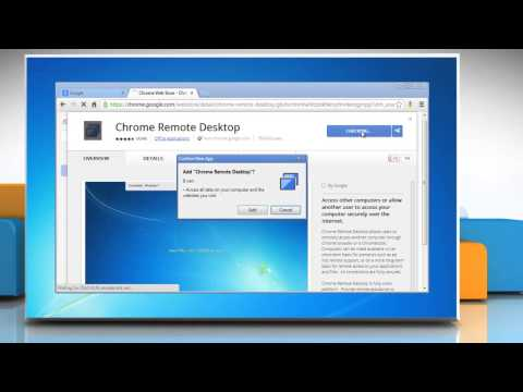 How to install Chrome Remote Desktop App in Google™ Chrome