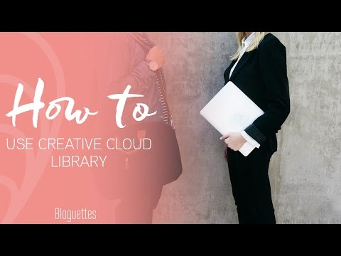 How To Use The Creative Cloud Library