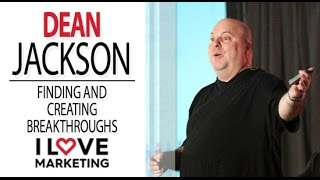 Finding and Creating Breakthroughs - Dean Jackson