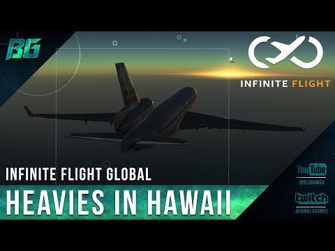 Infinite Flight   Heavies In Hawaii @PHNL (Friday Night Flight)