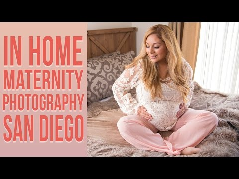 Maternity Photography San Diego   Indoor at Home Session