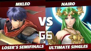 Glitch 6 SSBU -  FOX MVG | MKLeo (Ike) VS  NRG | Nairo (Palutena) Smash Ultimate Loser