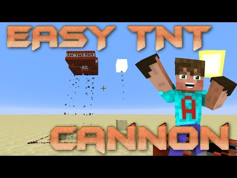 How To make A Cannon In Minecraft | Minecraft TNT Cannon | Survival Friendly Cannon for FACTIONS