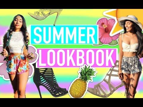 SUMMER LOOKBOOK & SHOE GIVEAWAY | Paris & Roxy
