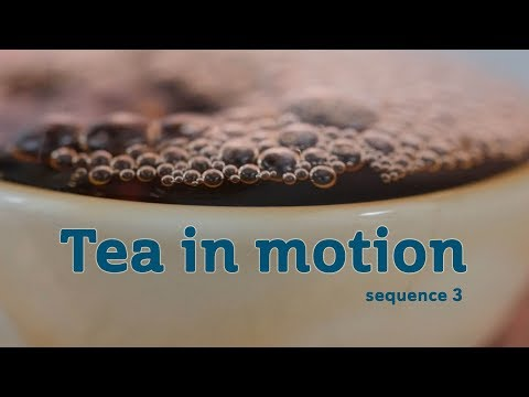 Tea In Motion - Beauty of Brewing (sequence 3)