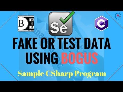 20. Sample Program Using BOGUS API in C#