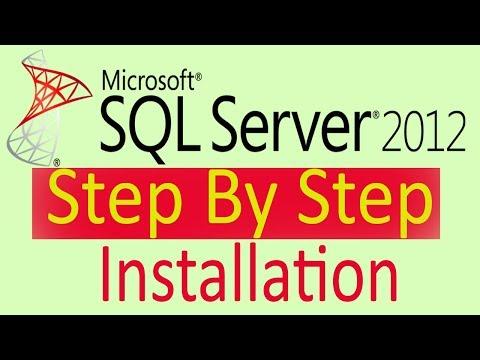 Install SQL Server 2012 Express and SQL Server Management Studio 2012