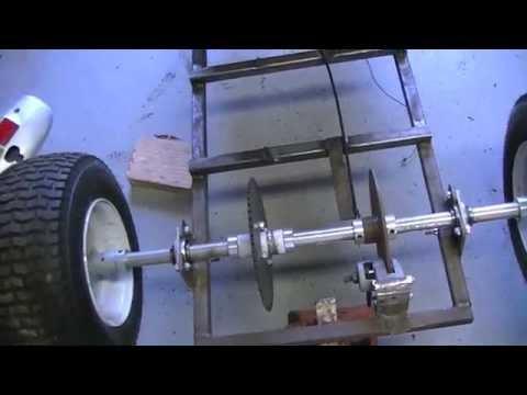 15 HP 5-Speed Go Kart Build Part 1- Overview