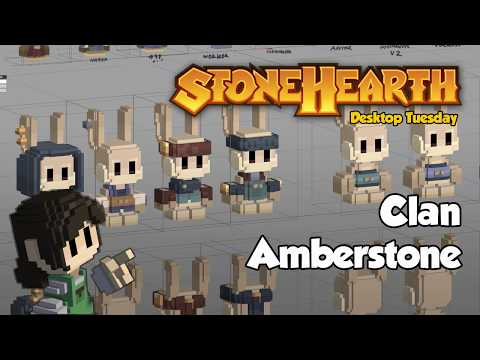 Stonehearth Desktop Tuesday: Clan Amberstone