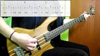 Air - Talisman (Bass Cover) (Play Along Tabs In Video