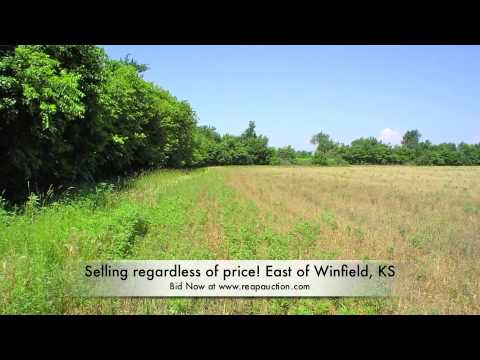 Cowley County Land for Sale at Absolute Auction Winfield, KS  Regardless of Price August 26, 2010