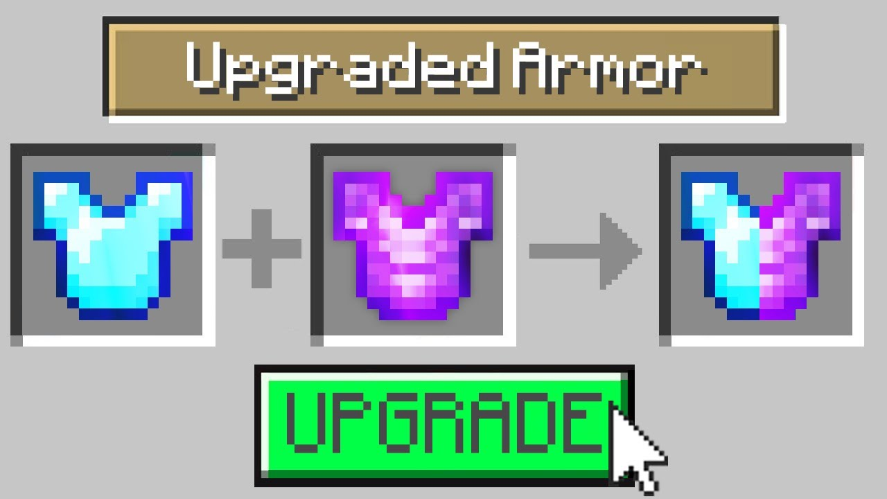 Minecraft, But You Can Upgrade Any Item...