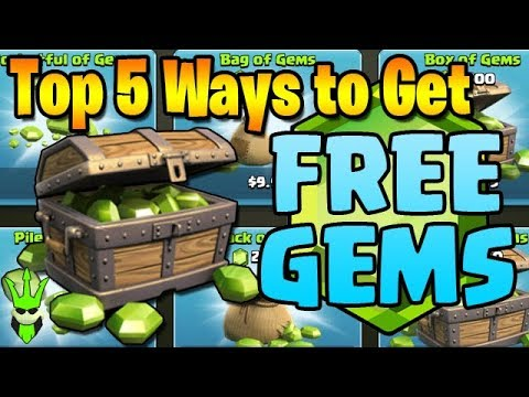 Top 5 Ways to Get FREE GEMS in Clash of Clans - Top 5 Friday! - Free Gems in CoC!
