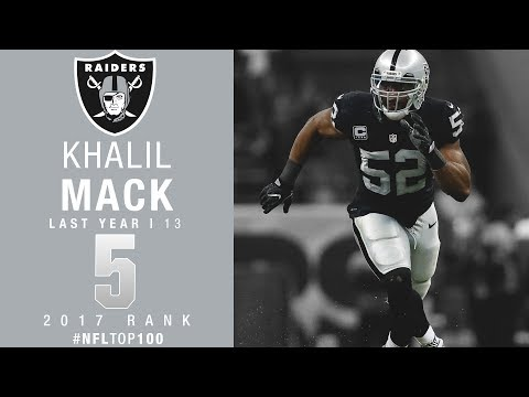 watch #5: Khalil Mack (LB, Raiders) | Top 100 Players of 2017 | NFL