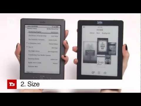 Kobo VS Kindle Hands on Review