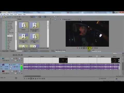 Split/Trim/Cut/Delete Unwanted Footage | SONY VEGAS Pro Tutorial