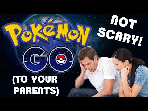 How to Make Pokemon GO Not Scary (To Your Parents)