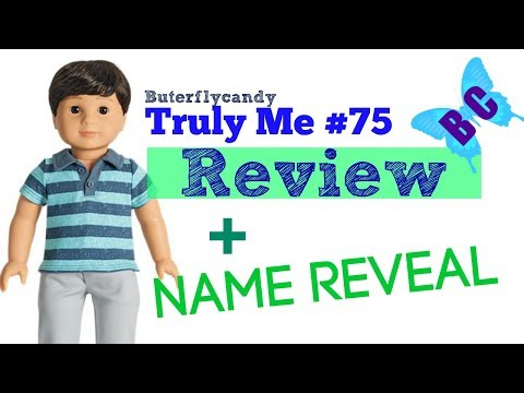 American Girl - Boy Doll Unboxing and Reviewing! Truly Me #75