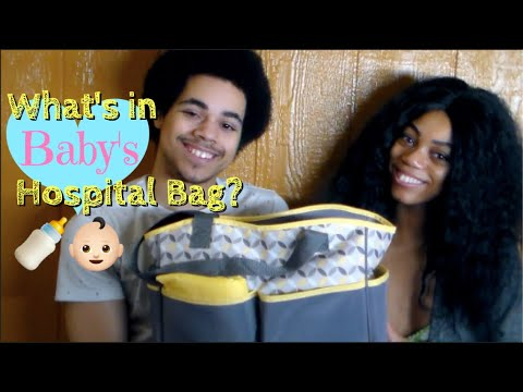 What's In Baby's Hospital Bag?| Teen Parents/Newborn - 17 and Pregnant