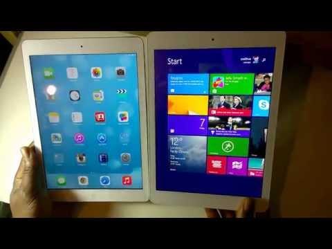 Cheap windows 8.1 tablet Onda v975w vs ipad Air