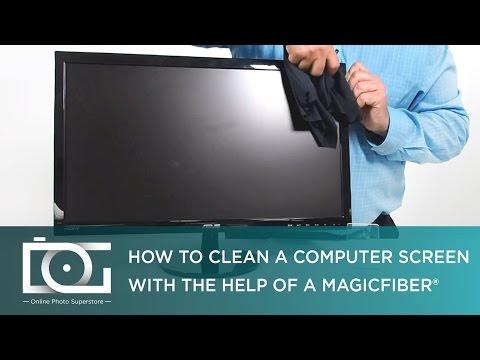 How Do I Clean My Computer Screen? | MagicFiber Microfiber Cloth