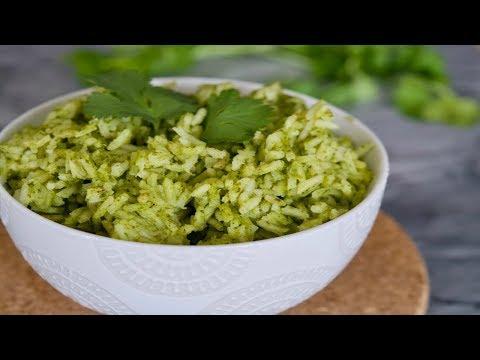 Arroz Verde Recipe   How To Make Arroz Verde   SyS