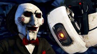 Jigsaw vs GLaDOS - Epic Rap Battle Parodies