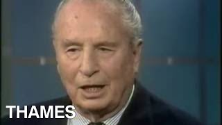Sir Oswald Mosley   Interview   Thames Television   1975