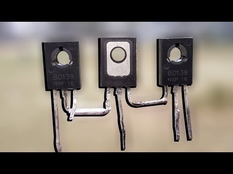 How To Make Simple Audio Amplifier Using 3 Transistor