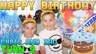 Download HAPPY BIRTHDAY!! Twins Chris & Zac Turn 9! Video