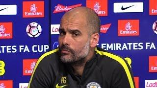 Pep Guardiola Pre-Match Presser - Arsenal v Manchester City - FA Cup Semi-Final - Embargo Extras
