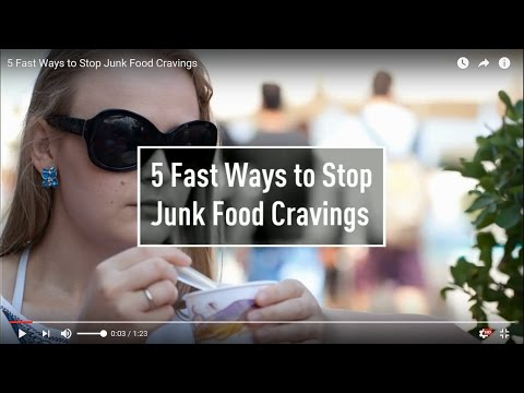 Healthwise Exercise 5 Fast Ways to Stop Junk Food Cravings for Weight Loss