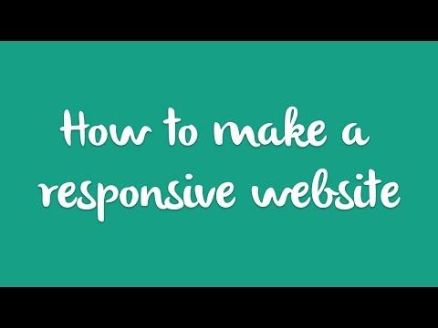 How-to: Make a Responsive Website - Mobile Website