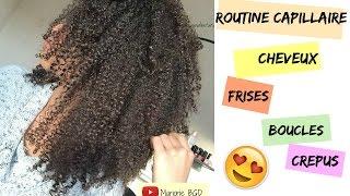 Routine capillaire cheveux frisés bouclés crépus en Hiver || Hydratation & Définition