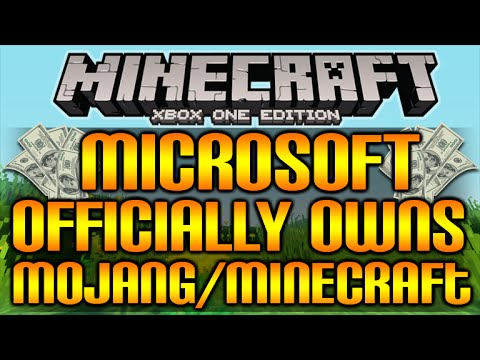 Minecraft Now Officially Belongs To Microsoft - $2.5 Billion Deal Complete!