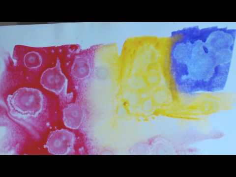How to Make Faux Alcohol Ink Looks with Acrylic and Watercolor Paint