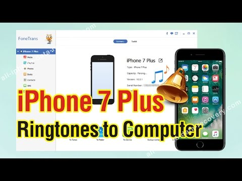 How to Backup iPhone 7 Plus Ringtones to Computer in One Click
