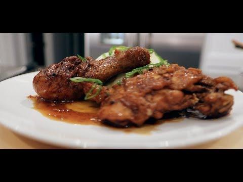 How to make Chicken Adobo with Sinangag (garlic fried rice)
