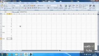 Microsoft Excel - Sum Function