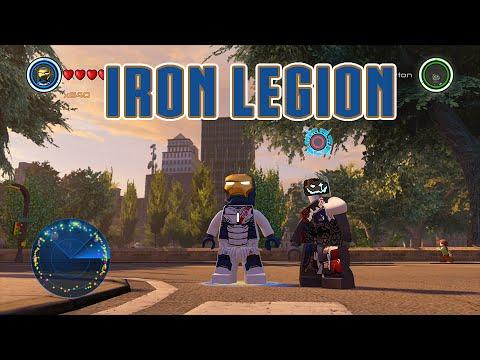 LEGO Marvel's Avengers - Iron Legion Gameplay and Unlock Location