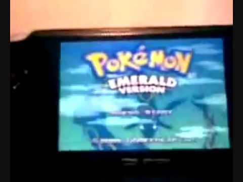 Pokemon Emerald on PSP!!!