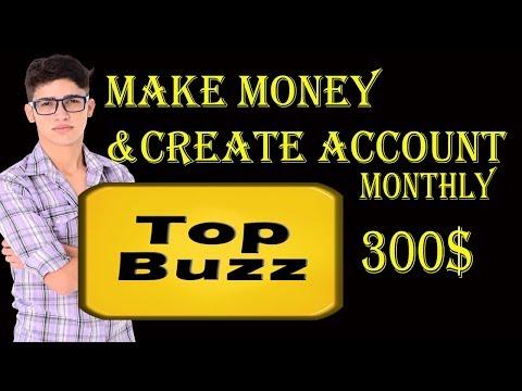 How to earn money topbuzz 2018 (Earn Money Online $300 per month Topbuzz )